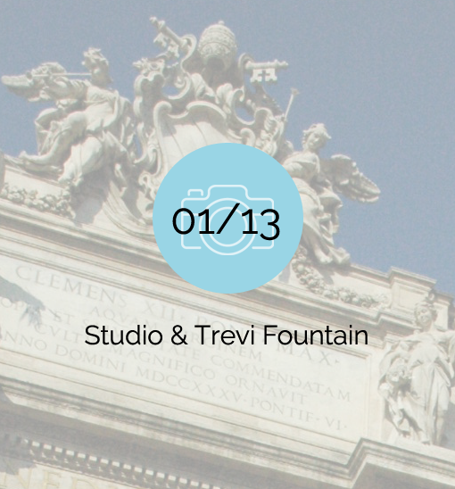 Studio & Trevi Fountain - 2007-01-13