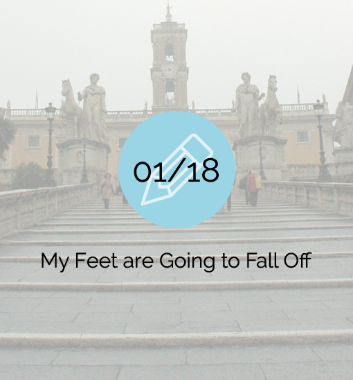 My Feet are Going to Fall Off - 2007-01-18