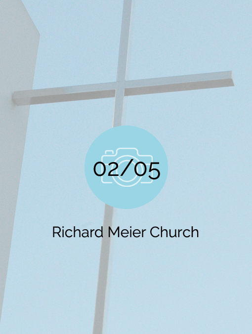 Richard Meier Church - 2007-02-05
