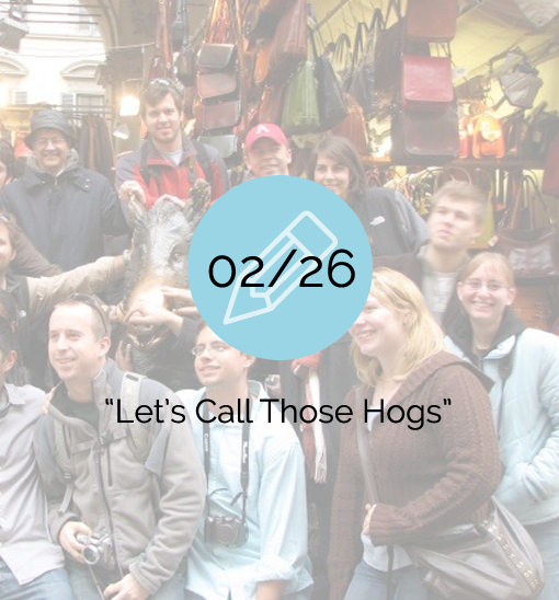 Let's Call Those Hogs - 2007-02-26